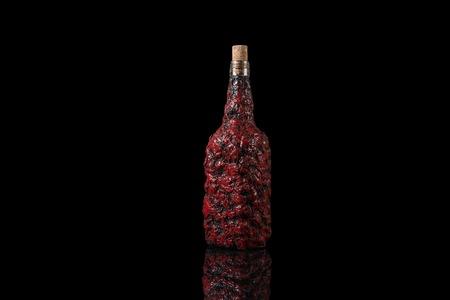 Old mystic Halloween fantasy magic spooky bottle