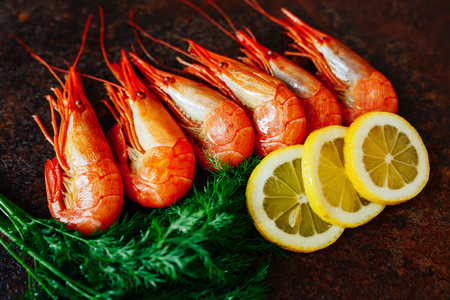 pincers: The composition of the shrimp and crab meat