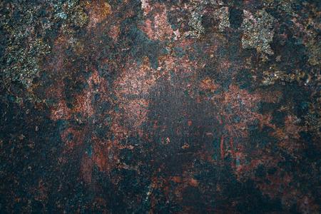 Rust steel background texture. Fading Stock Photo