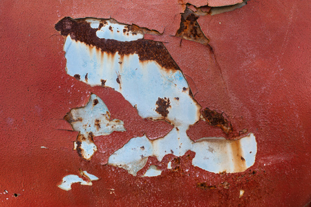 Rusted metal background Imagens