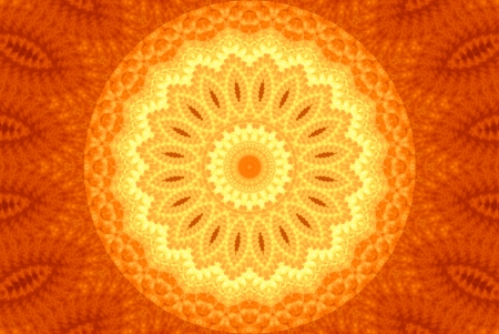 Composition a fantastic sunflower Stock Photo