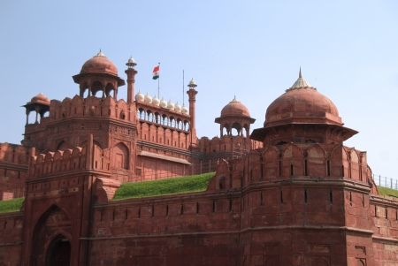 India, the Red Fort  in Old Delhi, it was built by Shahjahan as the Delhi citadel of the 17th Century Editorial