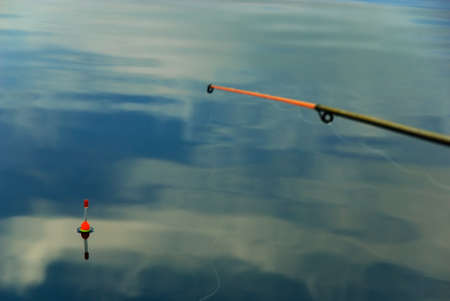 Float and sky reflexion in water Stock Photo - 17756617