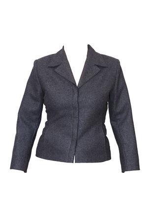 Female jacket isolated on white background