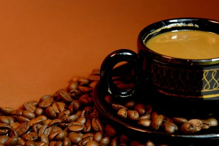 coffee brown background                                photo