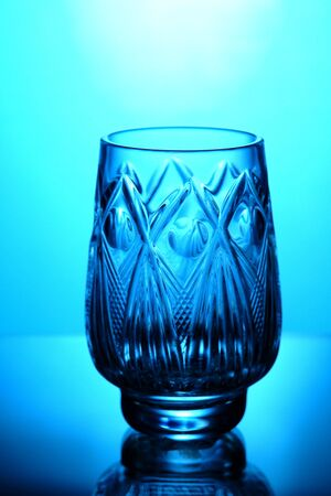 cutglass: beauty crystal glass Stock Photo
