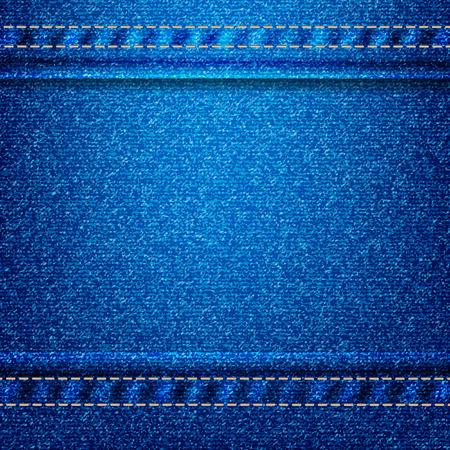jeans textuur eps 10 achtergrond Stock Illustratie