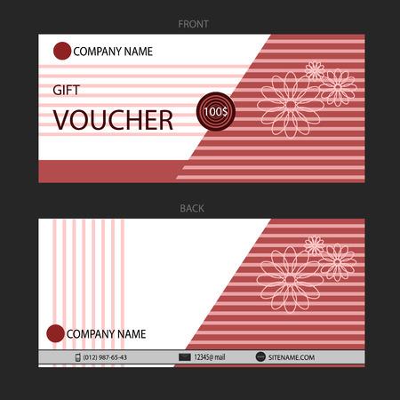 eps 10: Gift Voucher template eps 10