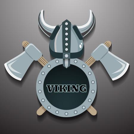 ax man: Viking warrior illustration