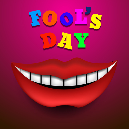 Fools Day Vector illustration vector eps 10