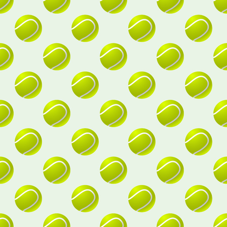 Tennis ball background pattern vector eps 10