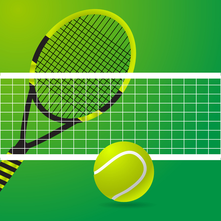 Tennis green design  background vector illustration eps 10