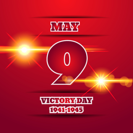Victory Day light vector illustration eps 10 background