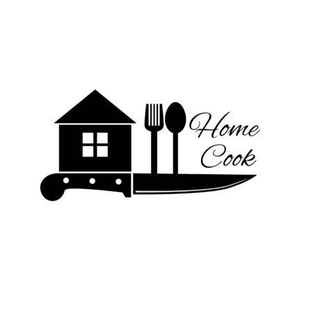 knife home cook illustration cook design