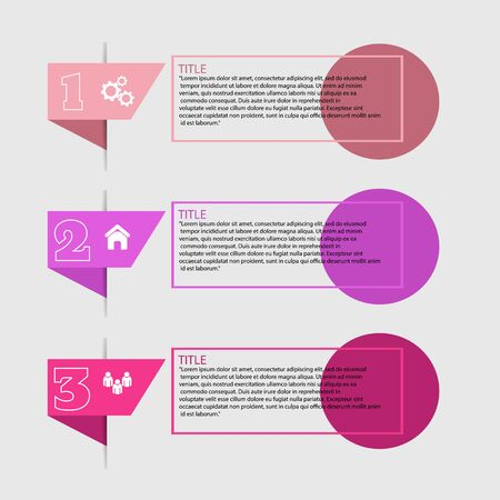 business infographic design color concept eps 10 vector