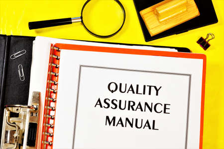 Quality assurance guide-label the text on the form in the Registrar's folder. Document for determining and confirming compliance with the requirements.