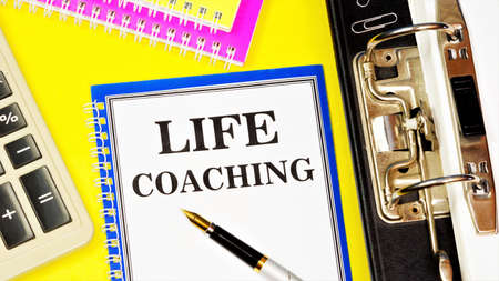 Life coaching is a text message in a Notepad. The method of consulting and training is practically used to achieve certain professional goals.