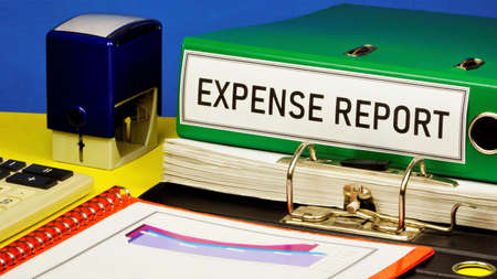 Expense report-text label in the Registrar's folder. Business research of accounting activity of the enterprise and its assessment.