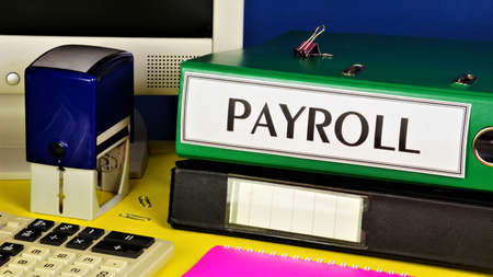 Payroll accounting. The text label in the folder office of the Registrar. Remuneration for work, the result of successful business activities.