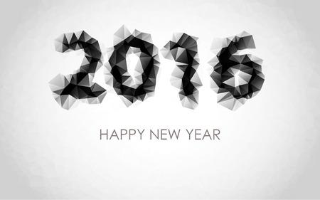 pf: PF wish card 2016 - Happy New Year Illustration