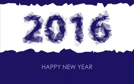 ligh: PF wish card 2016 - Happy New Year Illustration