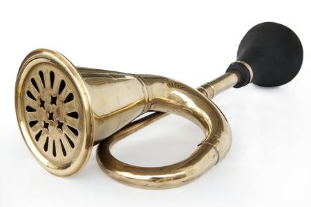 Antique car horn photo