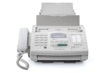 ファックス機 写真素材