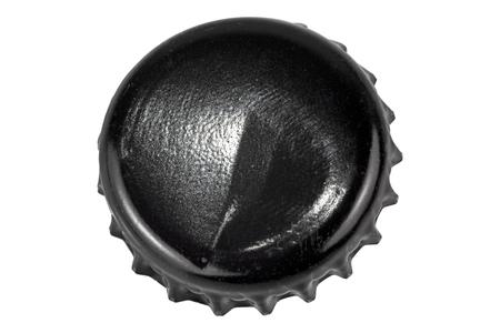 Bottle cap isolated over white