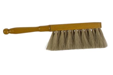 Vintage Drafting Brush isolated over white background