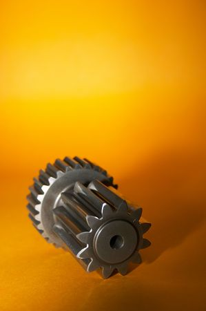 Gear detail from the machine