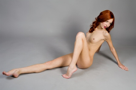attractive nude young woman Stock Photo - 12548693