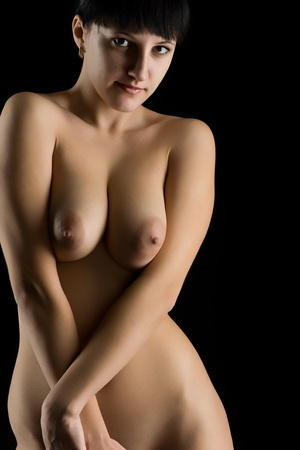 Portrait of the young nude woman Stock Photo - 12570268