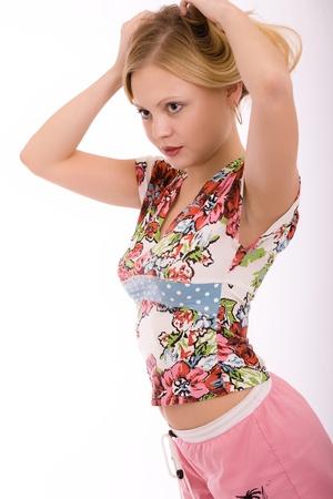 unpredictable: Fashion portrait of a girl