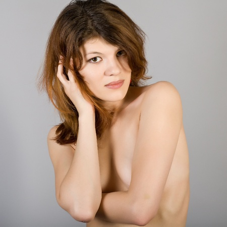 beautiful breasts: beautiful naked girl with beautiful breasts