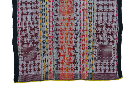 Tarabuco textile weaving from the Sucre area.