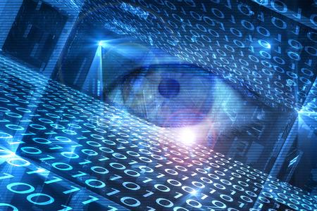 Cyber hacking generowanych cyfrowo obrazu