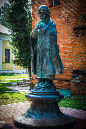 boris: Monument to Tsarevich Dimitry  near Uglich Kremlin (Russia)