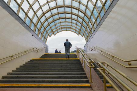 Passaggio sotterraneo attraverso la strada. Archivio Fotografico - 87004279
