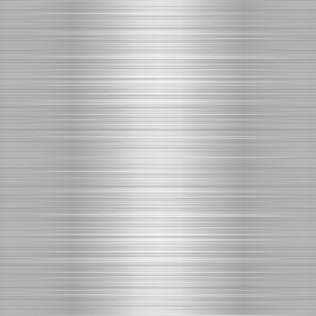 on metal: Placa de metal o aluminio cepillado