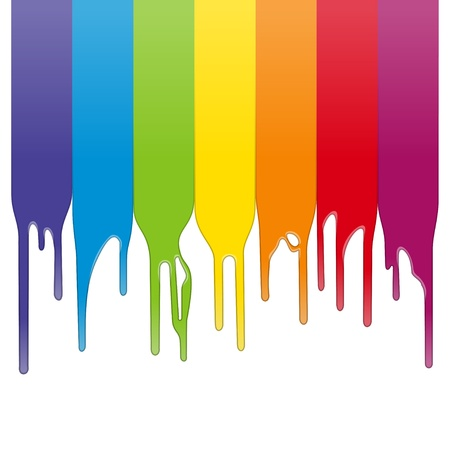 splash paint: Peinture de couleur