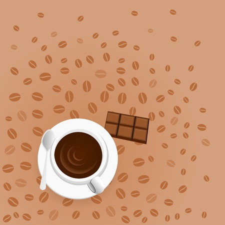 expresso: Coffee with Chocolate