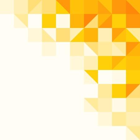 Geel abstract patroon Vector Illustratie