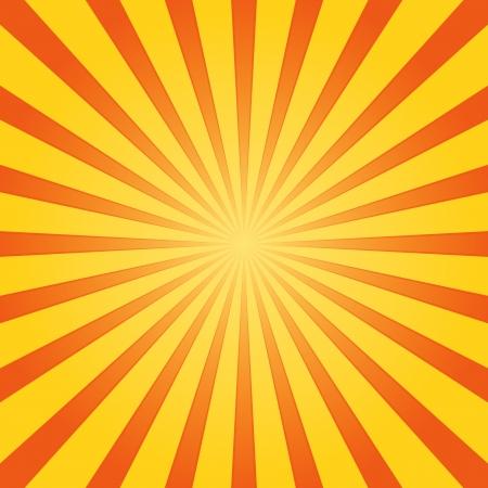 オレンジと黄色の輝き  イラスト・ベクター素材