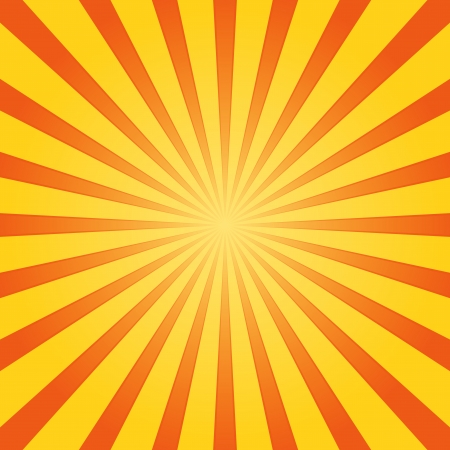 Orange and Yellow Shine Vector
