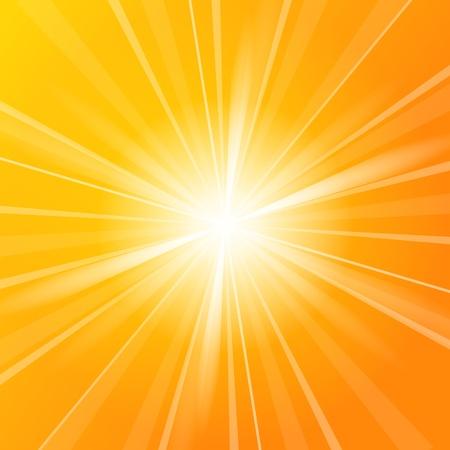 太陽の光の背景 写真素材
