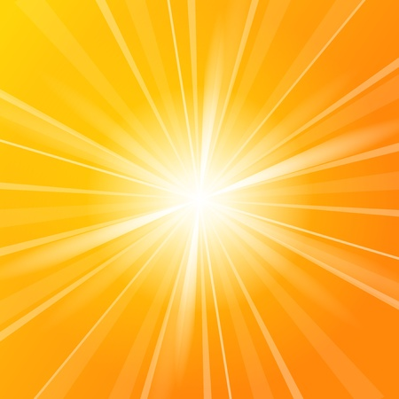 rayos de sol: Sol de fondo