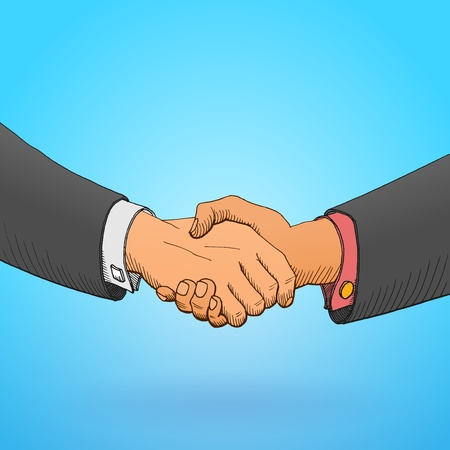 handshaking: Handshake Illustration