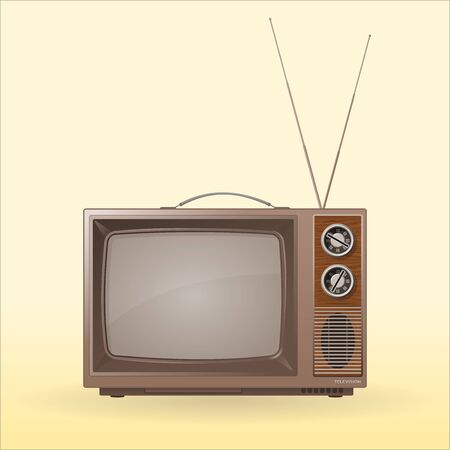 tv station: Old Retro TV