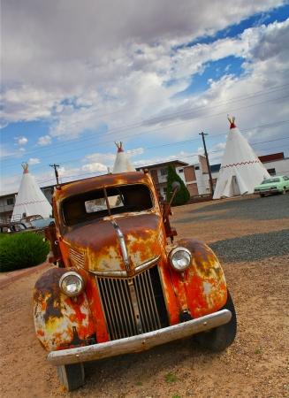 Rusty Vintage Car photo