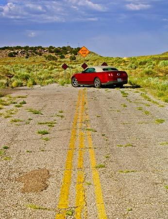 行き止まりの道